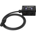 Laird LDC-HS24XLR 24VDC DUAL Input 3-Pin XLR HOT SWAP Auto Power Switcher 4K