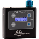 Lectrosonics IFBR1B-B1 UHF Multi-Frequency Belt-Pack IFB Receiver with Battery Charger Kit - 537.600 - 614.375 Mhz