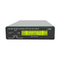 Link Electronics LEI-599 SD/HD SDI Closed Caption Decoder