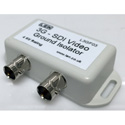 LEN L3GF03 3G-SDI Galvanic Video and Ground Path Isolator - 4kV Breakdown