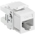 Leviton 61110-RW6 Extreme Cat 6 QuickPort Connector - White