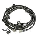 Lex 50116BA 20 Amp E-String Orchestra 12/3 STW Power Cable - NEMA 5-20 Plug - (6) NEMA 5-15 Receptacles - 23 Foot 4 Inch