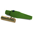 LEX CLS40FBE 400 Amp Cam-Type 16 Series Female Inline Connector 2/0 - 4/0 AWG - Green
