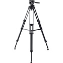 Libec 650EX Tripod System / Head with 6 lbs Payload / Tripod with Mid-level Brace and Travel Bag
