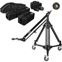 Libec JB40 KIT JB40 Jib Arm with T102B Tripod and DL-8RB Dolly with Carrying Case