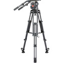 Libec QD-30 Tripod System with Ground Spreader - QH3/T150B/SP-15B - 151.8lb Payload