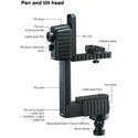Libec REMO30 Remote Head for Handheld Cameras