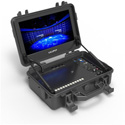Lilliput BM120-4KS 12.5 Inch Portable 4k Field Monitor with 3G-SDI HDMI 2.0  DVI  VGA and AV Input