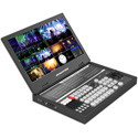 AVMATRIX PVS0615U 15.6 Inch Portable 6 Channel SDI/HDMI Multi-Format Streaming Video Switcher