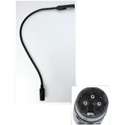 Littlite 24X-LED 24 Inch LED Gooseneck with 3-PIN XLR Connector