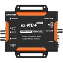 Lumantek EZ-MDPLUS HDMI/SDI Cross Converter with Audio Mux/Demux and Scaler