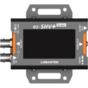 Lumantek ez-SHVPLUS SDI to HDMI Converter with Display and Scaler