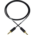 Sescom LN2MIC-35DB-3 DSLR Cable 3.5mm TRS Balanced Male to 3.5mm TRS Balanced Male Line to Mic - 3 Foot