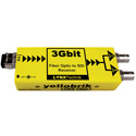 Yellobrik ORX-1802-LC 3Gbit Fiber Optic to SDI Receiver - LC Singlemode