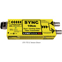 Lynx Yellobrik OTX 1712 Analog Video/Sync 10km Singlemode 1310nm Fiber Transmitter - LC Connector