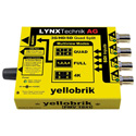 LYNX Technik Yellobrik PMV 1841 3G/HD/SD to HDMI Quad Split Multiviewer with 4K Monitoring