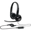 Logitech N53727 Padded H390 USB Headset - Stereo - USB - Wired - Over-the-head - Binaural - Noise Cancelling Microphone