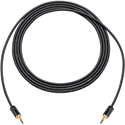 Sescom LOPRO-MPS-18IN Audio Cable LoProfile Mogami Star-Quad 3.5mm TRS Balanced Male to 3.5mm TRS Balanced Male - 18 Inc