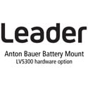 Leader LV5300-SER12 Anton Bauer Battery Gold Mount for LV5300 (hardware)