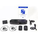 Listen Technologies LS-90-01 ListenIR iDSP Level I Assistive Listening System - Li-ion Battery Included