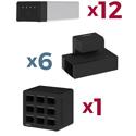 Luxor KBEP-12B6C9 KwikBoost EdgePower Constant Use Bundle