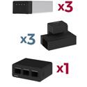 Luxor KBEP-3B3C3 KwikBoost EdgePower Light Use Bundle