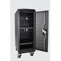 Luxor LLTM16-B-V2 16 Tablet/Chromebook Computer Charging Cart
