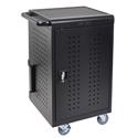 Luxor LLTM30-B 30 Tablet/Chromebook Computer Charging Cart