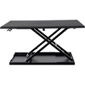 Luxor LEVEL UP 32 Standing Desk Converter - 20 lb. Weight Capacity