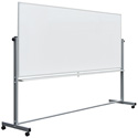 Luxor MB9640WW 96 x 40 Inch Double-Sided Magnetic Whiteboard