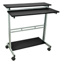 Luxor STANDUP-40-B Adjustable Height Stand Up Workstation
