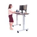 Luxor STANDUP-CF48-DW 48 Inch Crank Adjustable Stand Up Desk