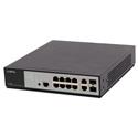 Luxul XMS-1208P 12-Port/8 PoEplus Gigabit Managed Switch - AVIP