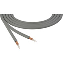 Canare LV-61S RG59 75 Ohm Video Coaxial Cable by the Foot - Grey