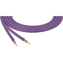 Canare LV-61S RG59 75 Ohm Video Coaxial Cable by the Foot - Purple