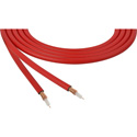 Canare LV-61S RG59 75 Ohm Video Coaxial Cable by the Foot - Red