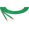 Canare LV-61S RG59 75 Ohm Video Coaxial Cable 500ft Roll - Green
