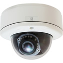 LevelOne FCS-3082 HUBBLE Varifocal Dome IP Network Camera - 3MP - 802.3af PoE - IR LEDs/Vandalproof/Indoor&Outdoor