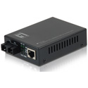 LevelOne FVT-2201 RJ45 to SC Fast Ethernet Media Converter - Single-Mode Fiber - 20km