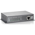 LevelOne GEP-0520 5-Port Gigabit PoE Switch - 61.6W - 802.3af PoE - 4 PoE Outputs - Power Adapter included