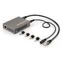 LevelOne POS-3000 Gigabit PoE Splitter - 802.3at/af PoE - 5-12V DC Output