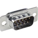 Liberty DB9M DSUB Plug. 9-Pin Solder NKL(V3)