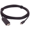 Liberty E-UCM-HDM-06F Molded USB C Male to HDMI A Male Cable - 6 Foot