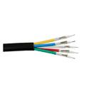 Liberty RGB5C-PLN Plenum Cable 1000ft Roll 5 X 26 MHR CL2P - Black