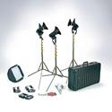 Photo of Lowel G5-93DA Pro LED 3-Light AC Kit Daylight with TO-84Z Hard Case