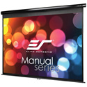 M120UWV2 Manual Series Projection Screen black case - 96x72 Inch
