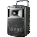 Mipro MA808PADB5AH Portable 267-Watt PA Bluetooth System with CD Player & Wireless Receiver (5A Band/Handheld Mic)