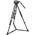 Manfrotto 509 HD Fluid Video Head & 545GB Aluminum Twin Leg Tripod