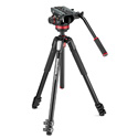 Manfrotto MVK502055XPRO3 - MT055XPRO3 Aluminum Tripod with MVH502AH Pro Fluid Video Head