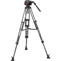 Manfrotto MVK504TWINMCUS 504 Video Head with CF Twin Leg Tripod MS 100/75mm